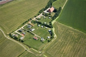 Luchtfoto Camping  Hilarides
