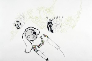 Anne-Marie Schneider: Works on Paper (Drawings, Watercolors etc.)