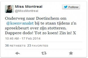 Tweet Miss Montreal