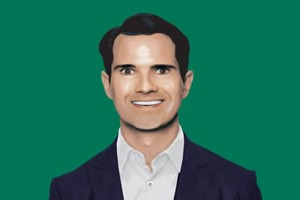 Jimmy Carr -  Affiche Funny Buisiness