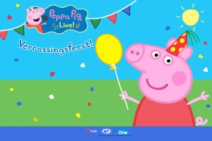 Peppa Pig Live! Verrassingsfeest