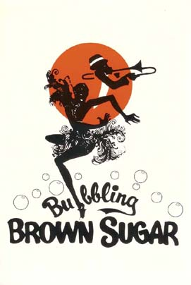 Oude poster van 'Bubbling Brown Sugar'