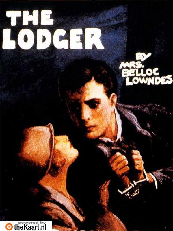 The Lodger: A Story of the London Fog poster, copyright in handen van productiestudio en/of distributeur