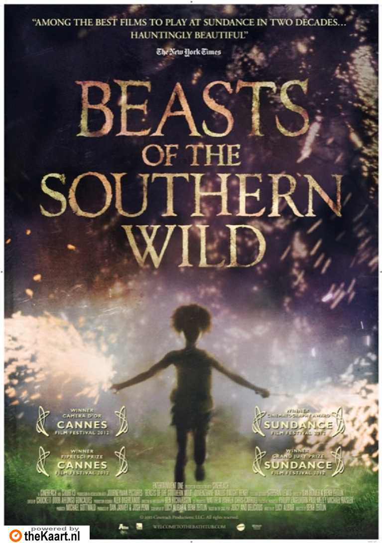 Beasts of the Southern Wild poster, © 2012 A-Film Distribution
