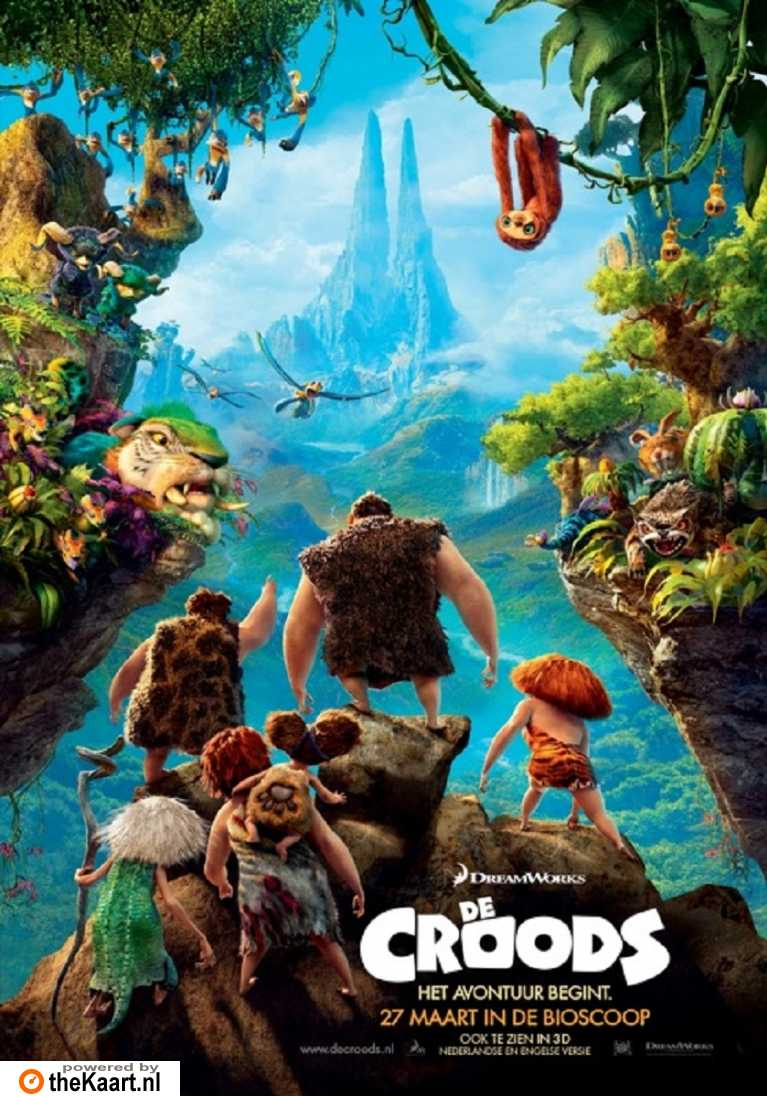 The Croods poster, © 2013 20th Century Fox