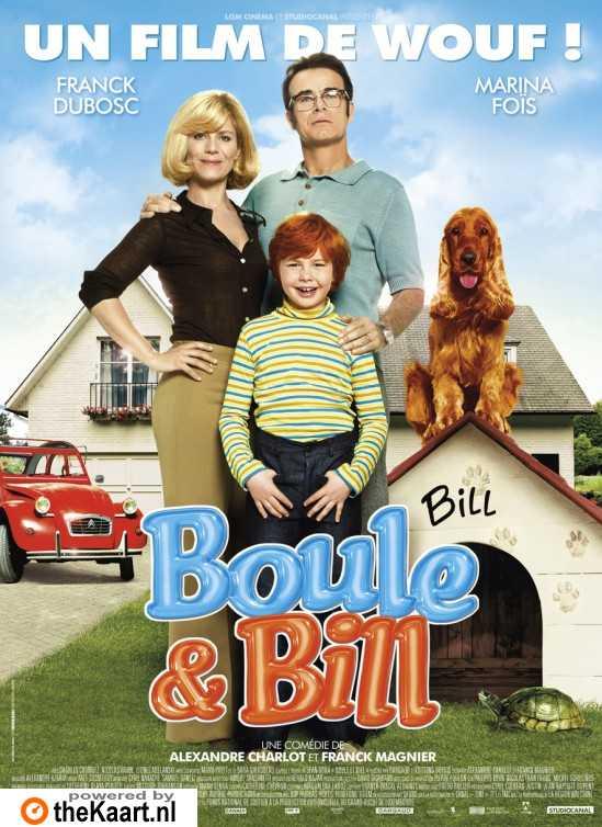 Boule & Bill poster, copyright in handen van productiestudio en/of distributeur