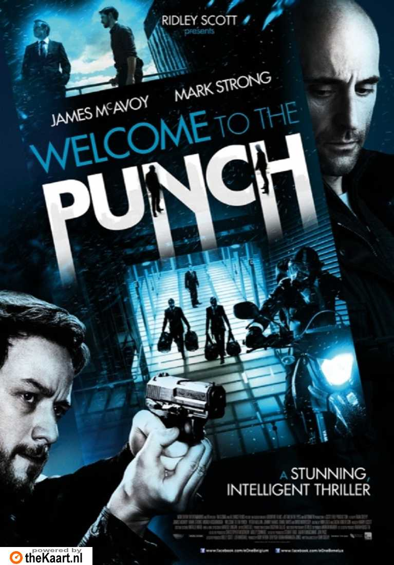 Welcome to the Punch poster, copyright in handen van productiestudio en/of distributeur