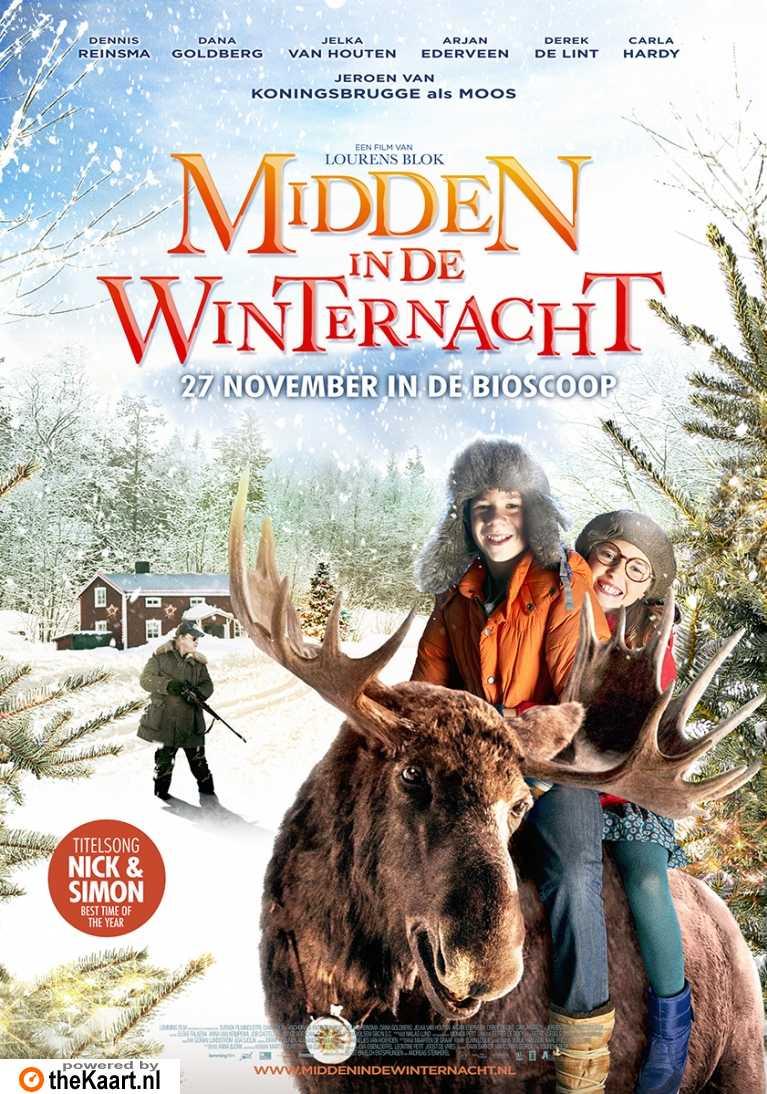 Midden in De Winternacht poster, © 2013 Benelux Film Distributors