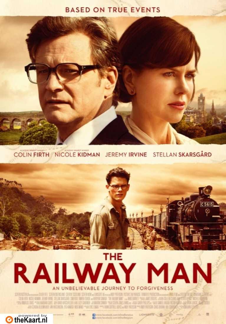 The Railway Man poster, © 2013 E1 Entertainment Benelux