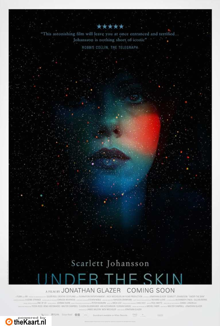 Under the Skin poster, © 2013 A-Film Distribution
