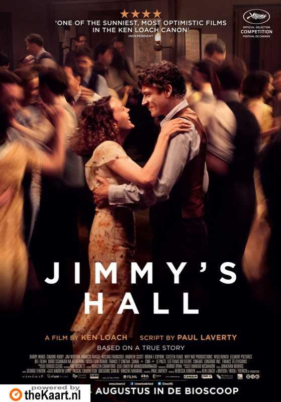 Jimmy's Hall poster, © 2014 Cinéart