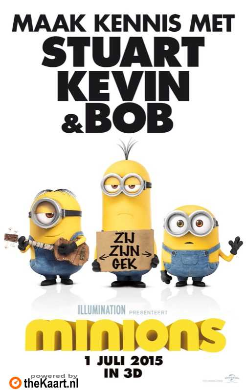 Minions poster, © 2015 Universal Pictures International