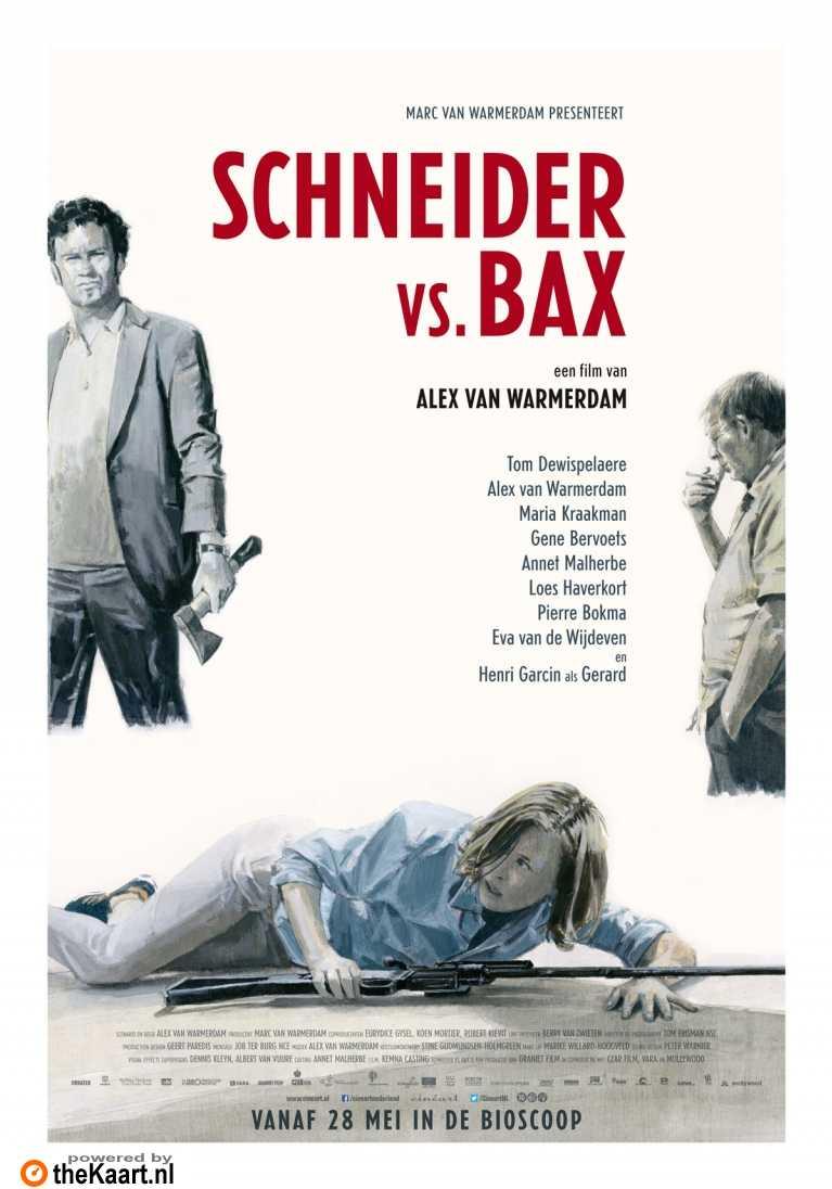 Schneider vs. Bax poster, � 2015 Cin�art