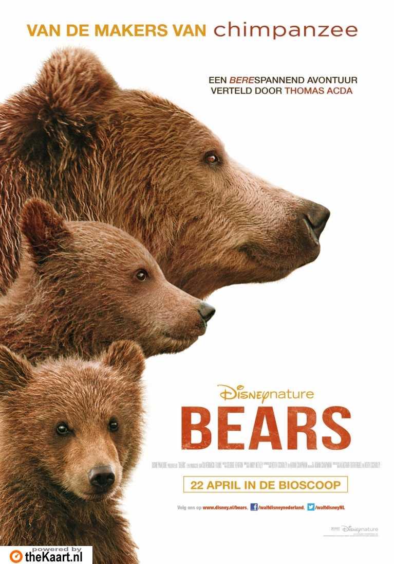 Bears poster, � 2014 Walt Disney Pictures