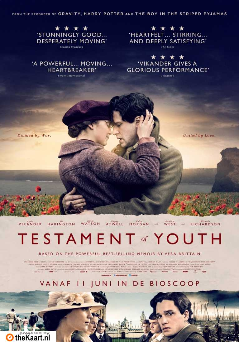 Testament of Youth poster, � 2014 Cin�art