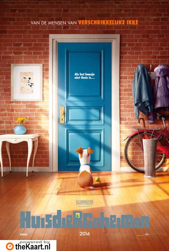 The Secret Life of Pets poster, � 2016 Universal Pictures International