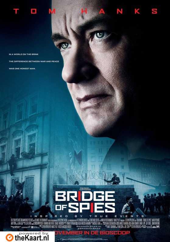 Bridge of Spies poster, © 2015 20th Century Fox
