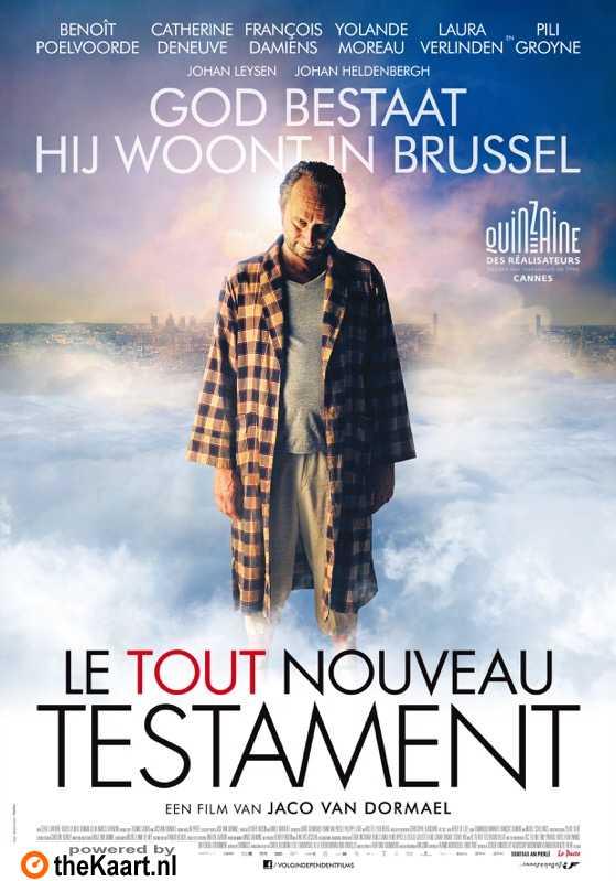 Le tout nouveau testament poster, � 2015 Independent Films