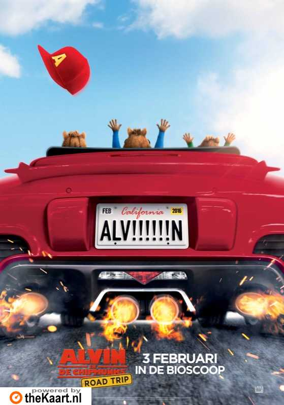 Alvin and the Chipmunks: The Road Chip poster, � 2015 20th Century Fox