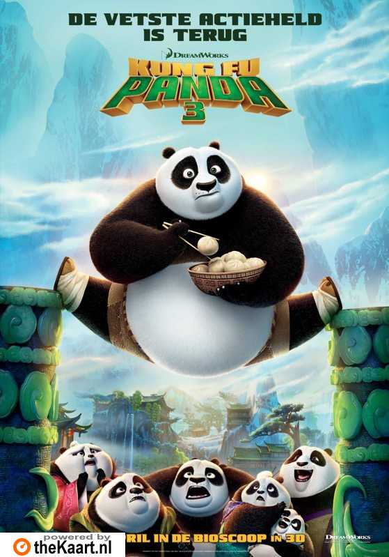 Kung Fu Panda 3 poster, � 2016 20th Century Fox