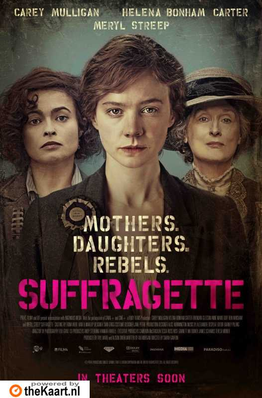 Suffragette poster, © 2015 Paradiso