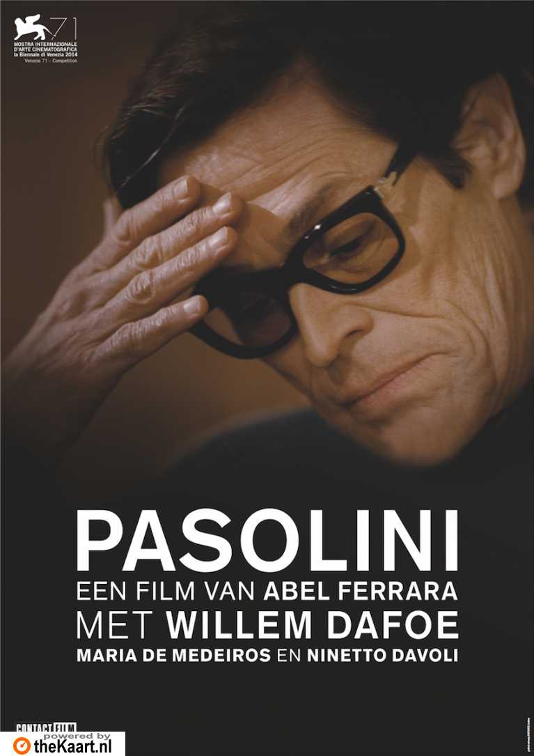 Pasolini poster, © 2014 Contact Film