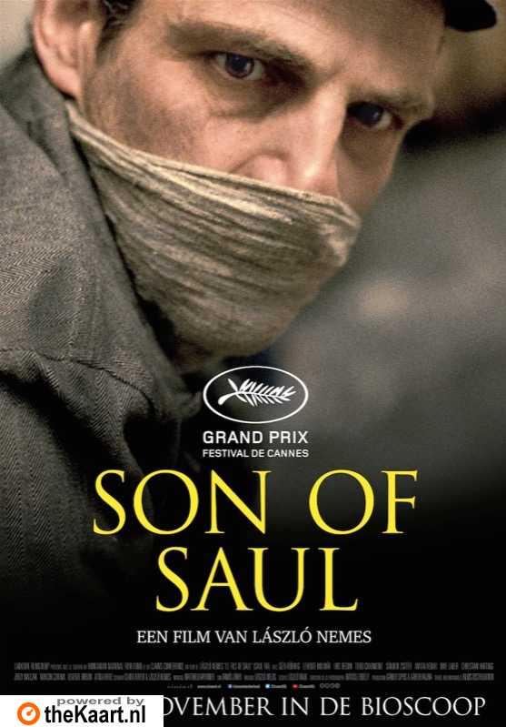 Son of Saul poster, © 2015 Cinéart