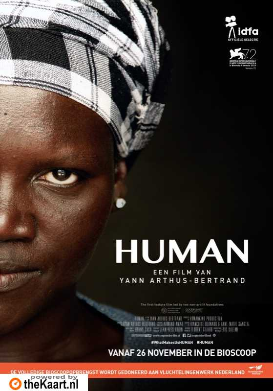 Human poster, � 2015 September