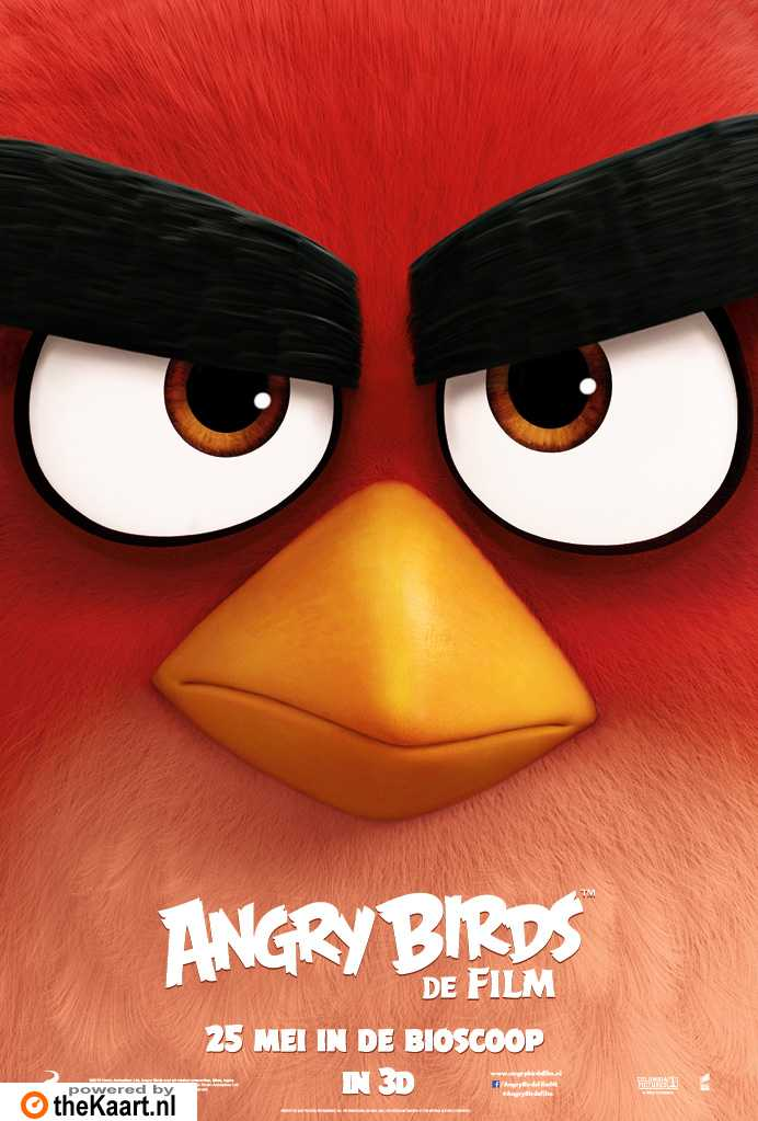 Angry Birds poster, � 2016 Universal Pictures International