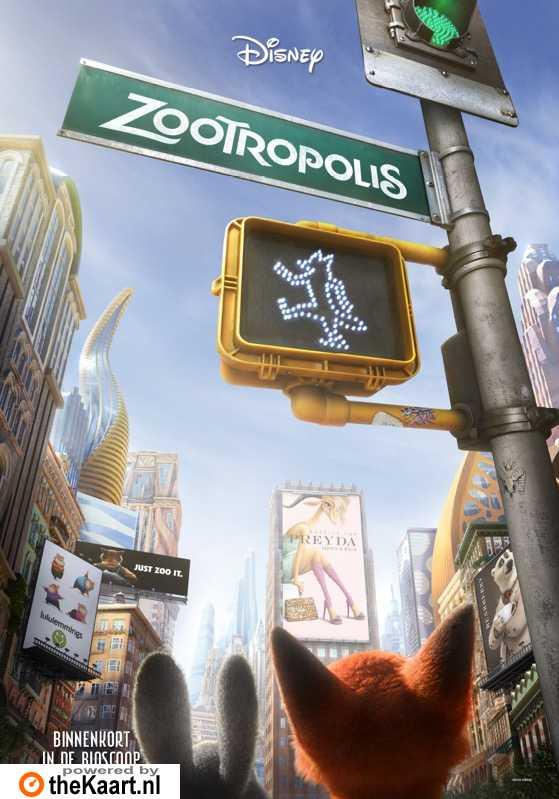 Zootopia poster, � 2016 Walt Disney Pictures