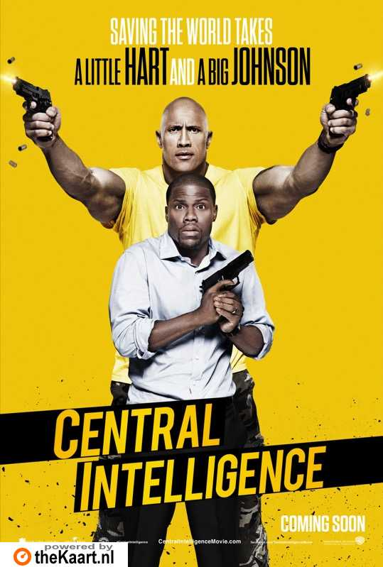 Central Intelligence poster, � 2016 Universal Pictures International