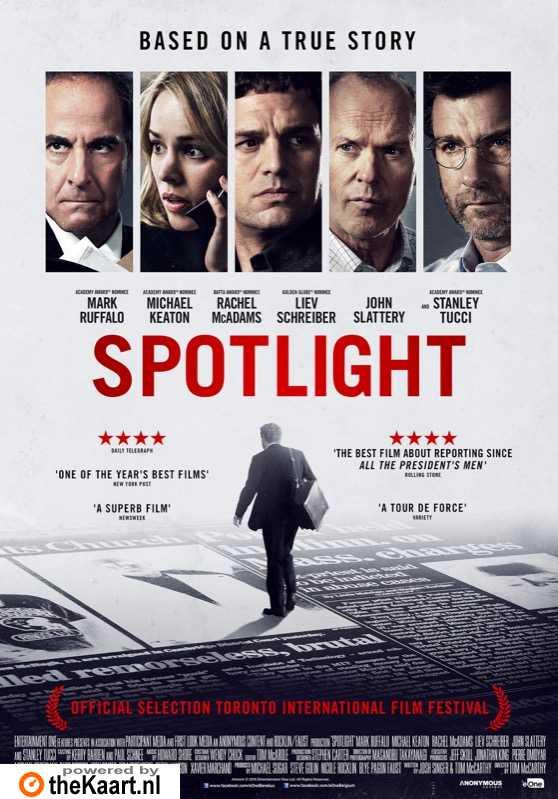 Spotlight poster, � 2015 Entertainment One Benelux