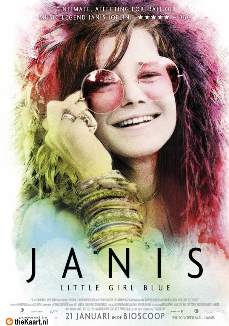 Janis: Little Girl Blue poster, © 2015 Periscoop
