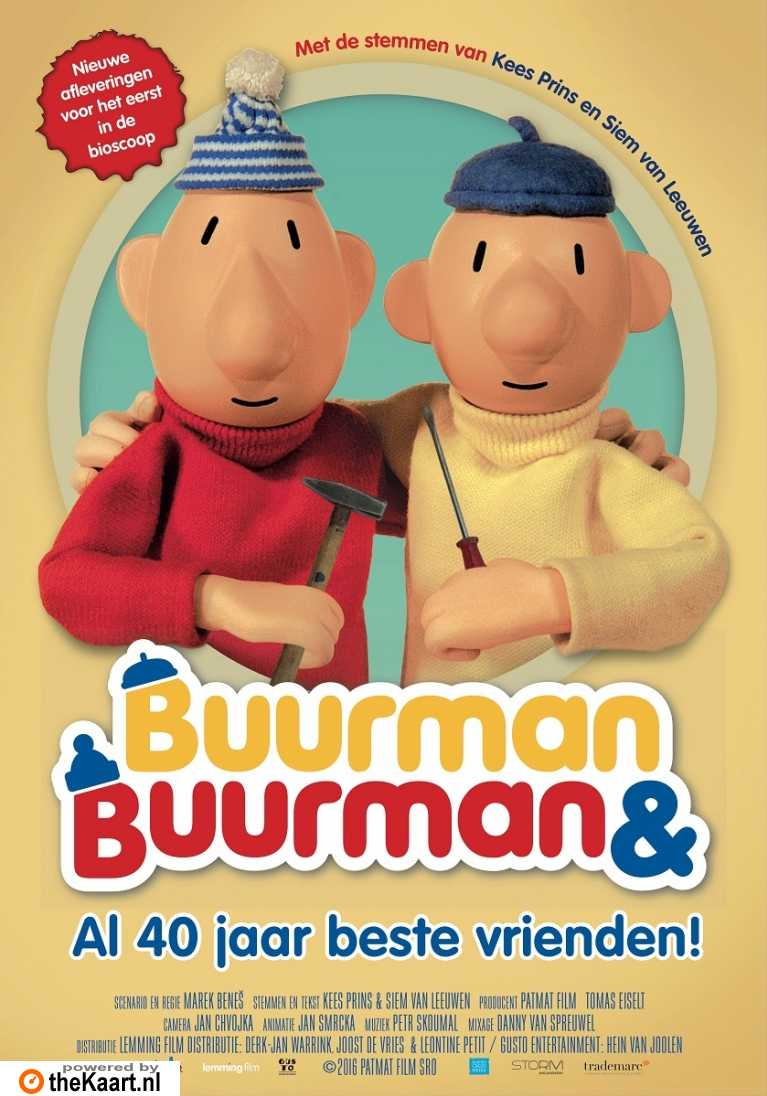 Buurman & Buurman - Al 40 jaar beste vrienden! poster, copyright in handen van productiestudio en/of distributeur
