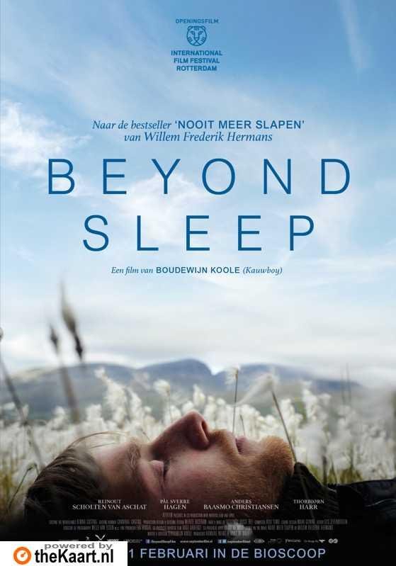 Beyond Sleep poster, copyright in handen van productiestudio en/of distributeur