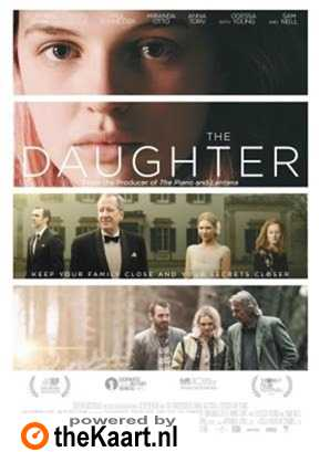 The Daughter poster, � 2015 Cherry Pickers