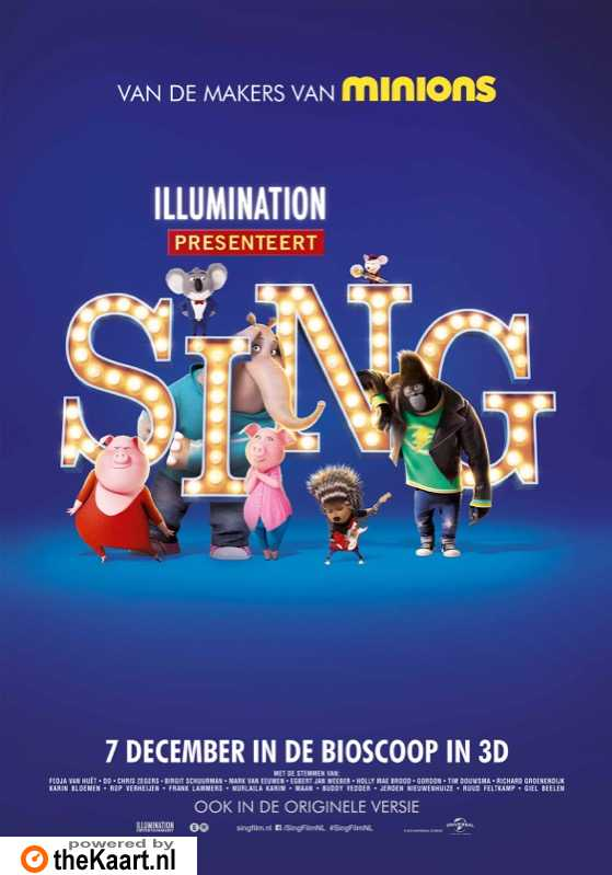Sing poster, © 2016 Universal Pictures International