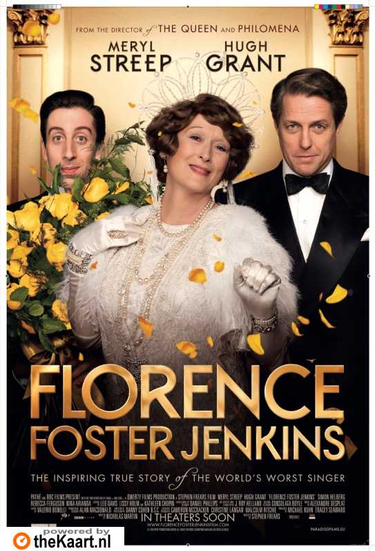Florence Foster Jenkins poster, � 2016 Paradiso