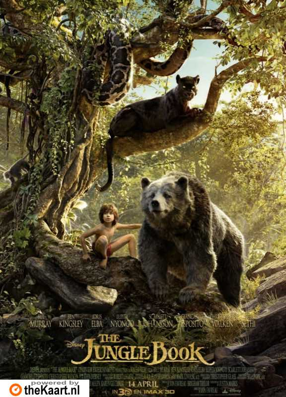 The Jungle Book poster, � 2016 Walt Disney Pictures