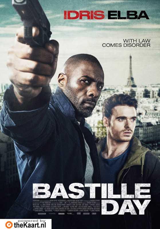 Bastille Day poster, � 2016 Dutch FilmWorks
