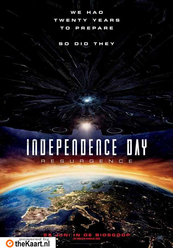 Independence Day: Resurgence poster, � 2016 20th Century Fox