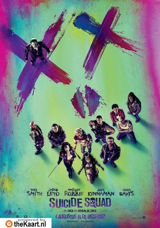 Suicide Squad poster, � 2016 Warner Bros.