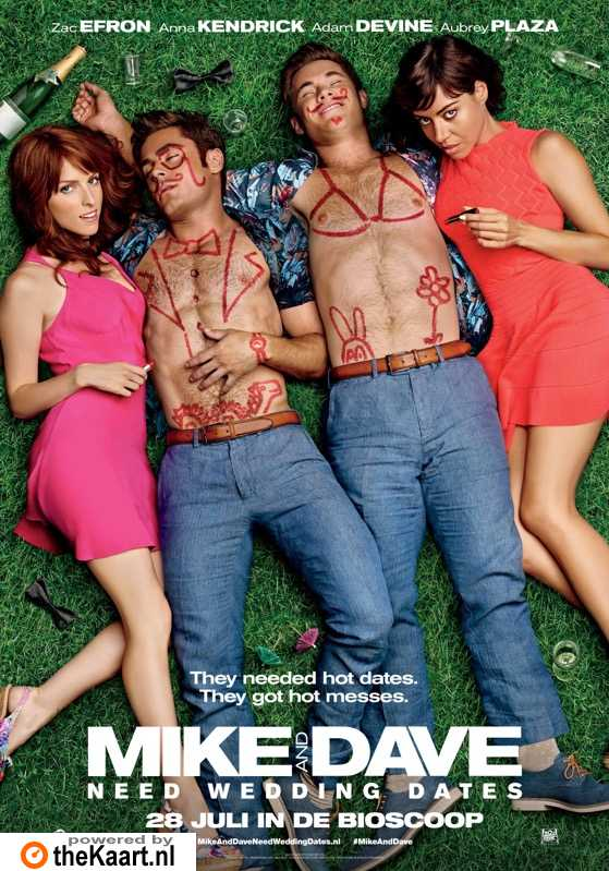 Mike and Dave Need Wedding Dates poster, � 2016 20th Century Fox