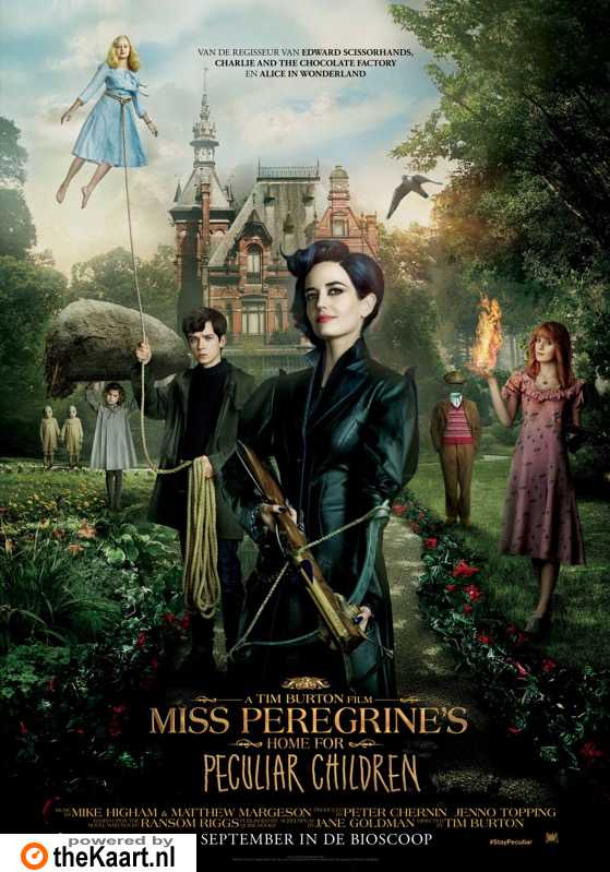 Miss Peregrine's Home for Peculiar Children poster, � 2016 20th Century Fox