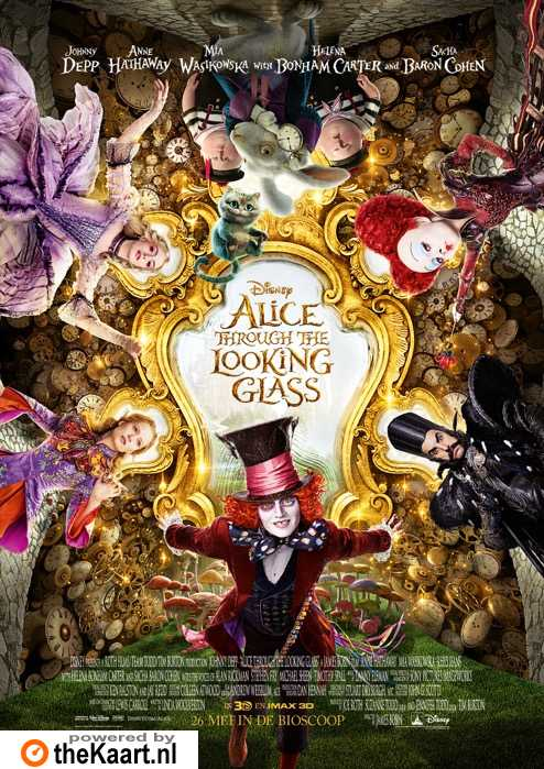 Alice: Through the Looking Glass poster, � 2016 Walt Disney Pictures