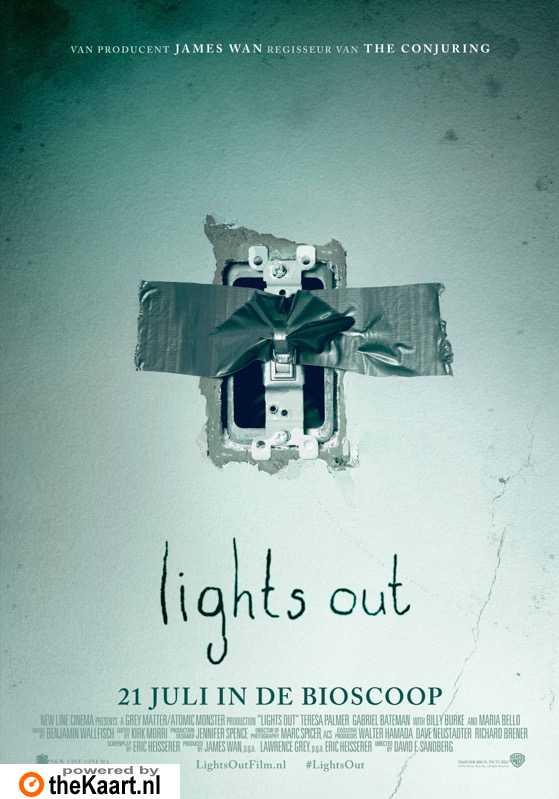Lights Out poster, � 2013 Warner Bros.