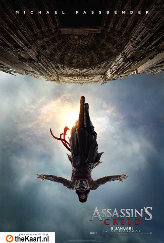 Assassin's Creed poster, © 2016 20th Century Fox