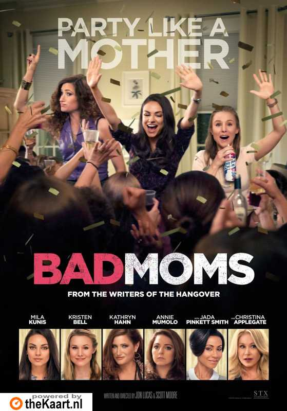 Bad Moms poster, � 2016 Dutch FilmWorks