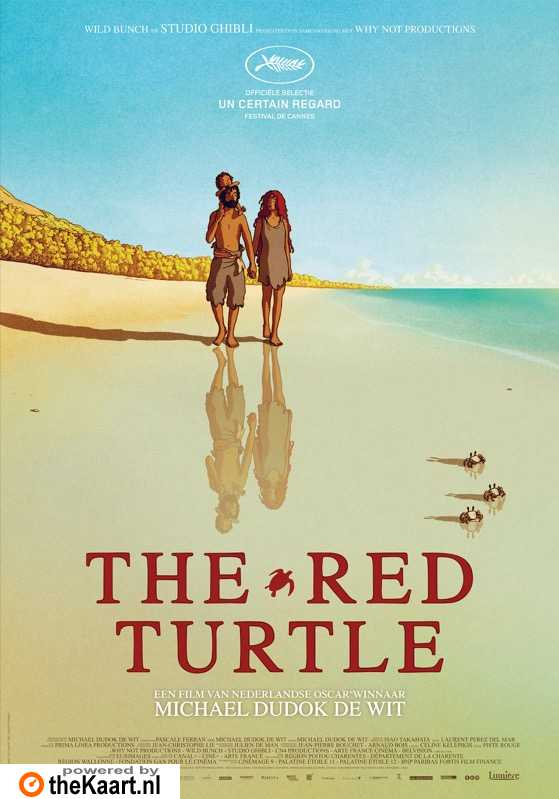 The Red Turtle poster, � 2016 Lumi�re