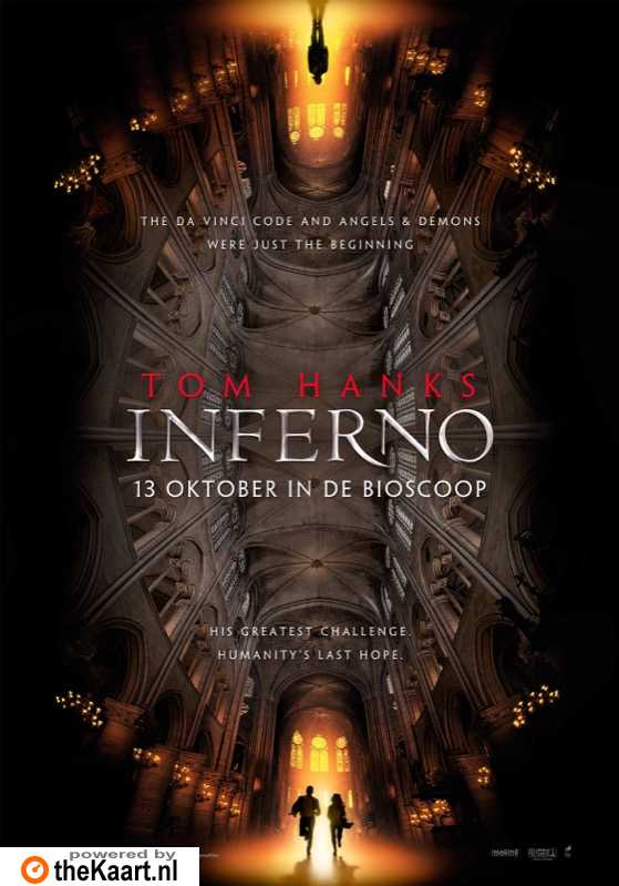 Inferno poster, � 2016 Universal Pictures International